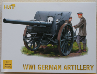 HaT 1/72 HAT8109 German Artillery (WW1)